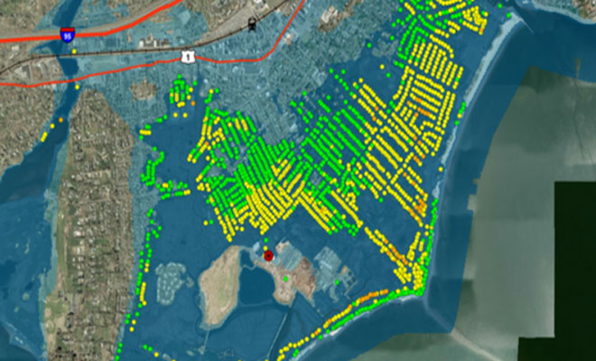 Data Viewer map image