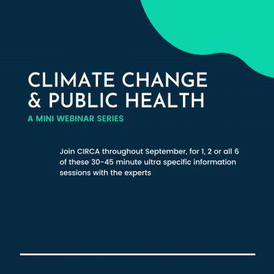 climate change and public health flyer
