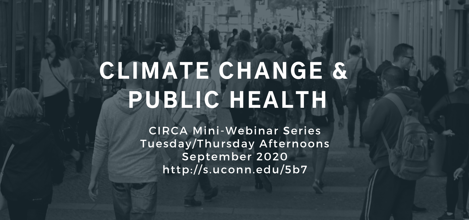climate change and public health minseries notice and registration link